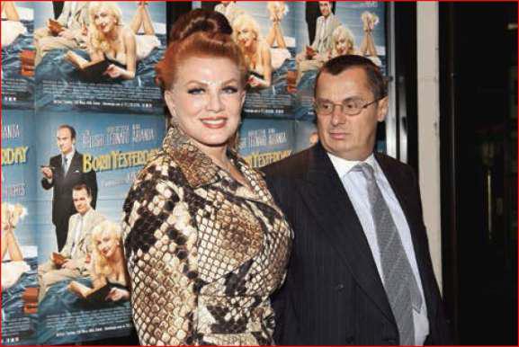 Georgette Mosbacher with Alexander Mirtchev